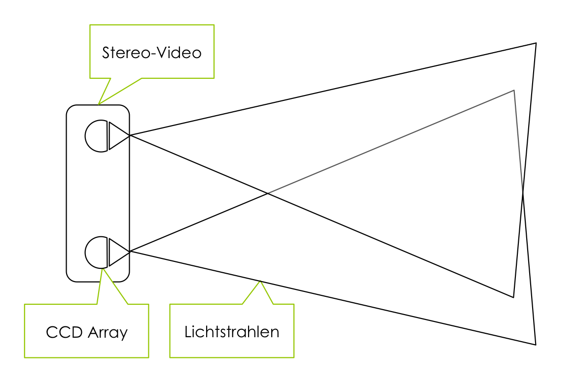 Stereovideo Fahrzeugsensor autonomes Fahren