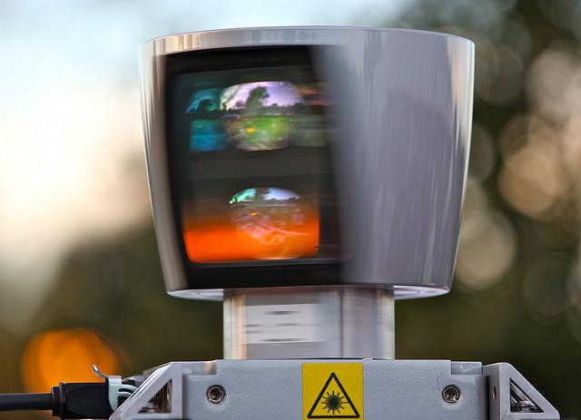 LIDAR von Velodyne autonomes Fahren