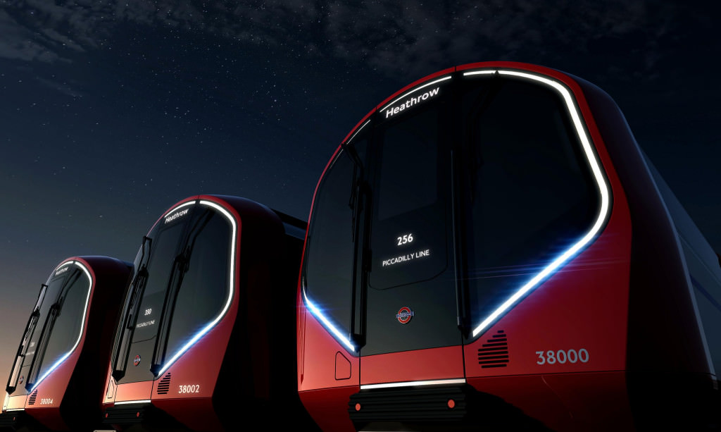 New Tube for London (NTfL) London Neue U-Bahn