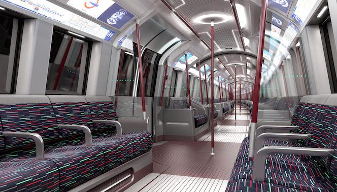 New Tube for London (NTfL) London Neue U-Bahn Klimaanlage