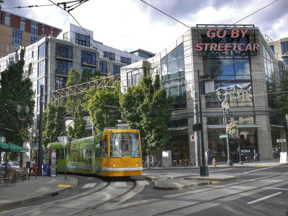 Straßenbahn Portland USA