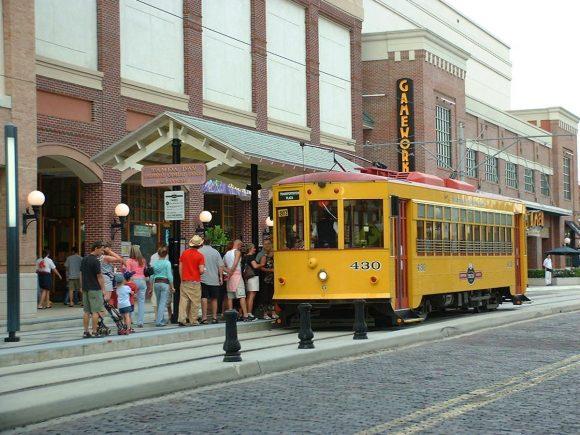 Tampa Straßenbahn USA Florida