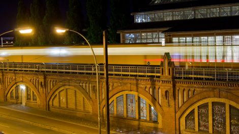 U1 Warschauer Straße Berlin metro U-Bahn U1 BVG