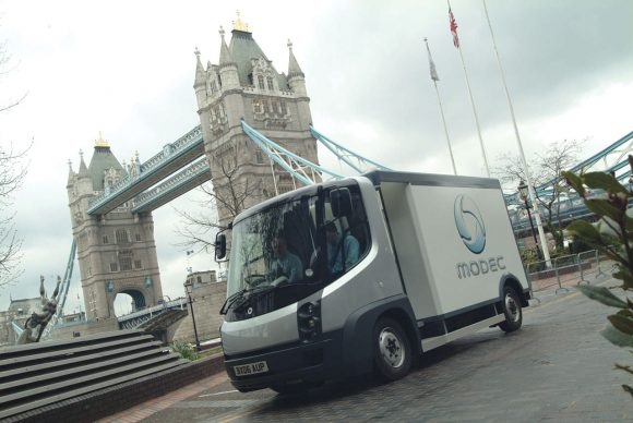 Modec Electric Van London Navistar