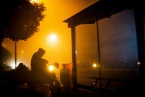Smog in China Feinstaubbelastung Smogwolke Dunst
