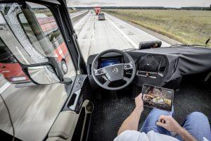 Mercedes Benz Trucks Highway Pilot Automatisierung NFZ