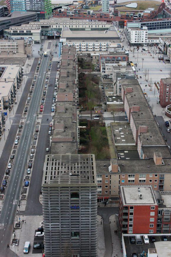 Trennung von Verkehren in Almere Stadtplanung Verkehrsplanung