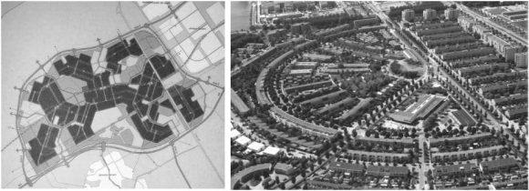 Almere Stad Plan Struktur Stadtstruktur Stadtviertel