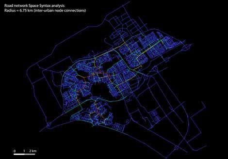 strassennetz almere radverkehr fußwege