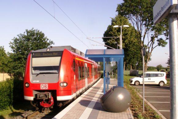 Wurmtalbahn DB BR 425 Heinsberg-Porselen Aachen