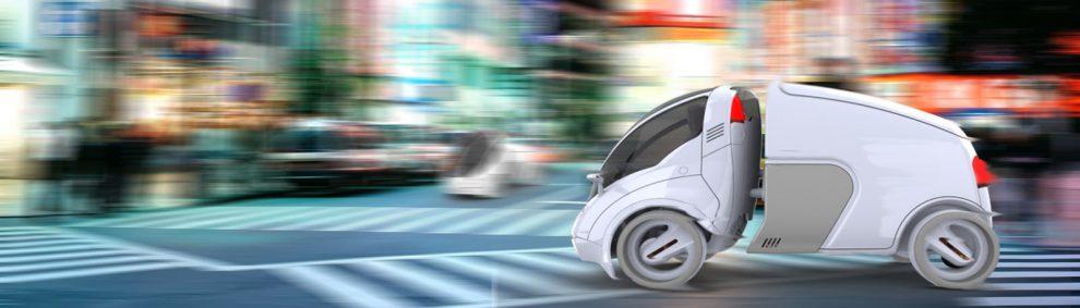Citi Transmitter von Vincent Chan Fahrzeugkonzept Designstudie innerstädtischer Güterverkehr