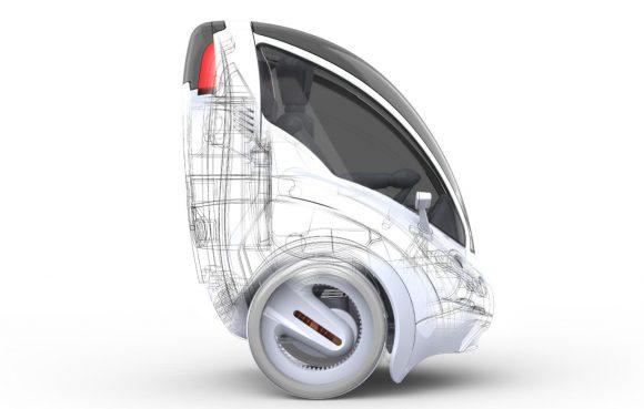 Citi Transmitter von Vincent Chan Fahrzeugkonzept Designstudie Hauptmodul