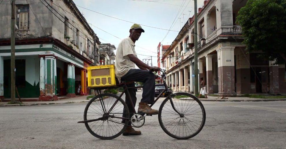 Radverkehr in Kuba Havanna