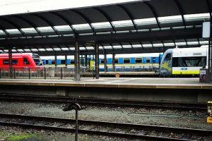 Schienenpersonennahverkehr agilis Deutsche Bahn ALEX Hof Hbf
