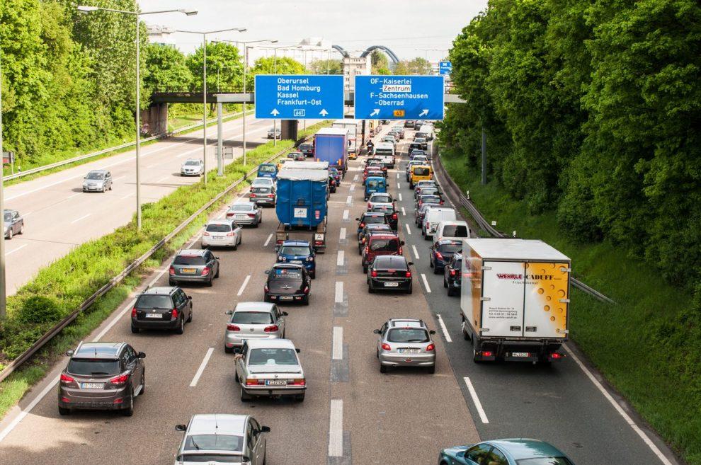 Stau Autobahn Offenbach