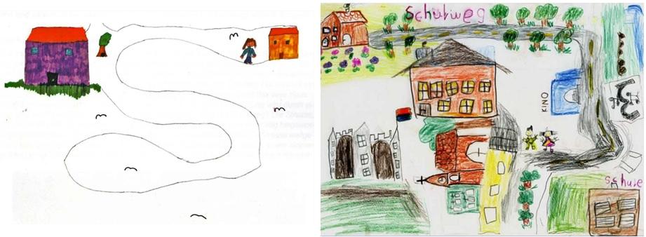 Wahrnehmung des Schulweges durch Schulkinder