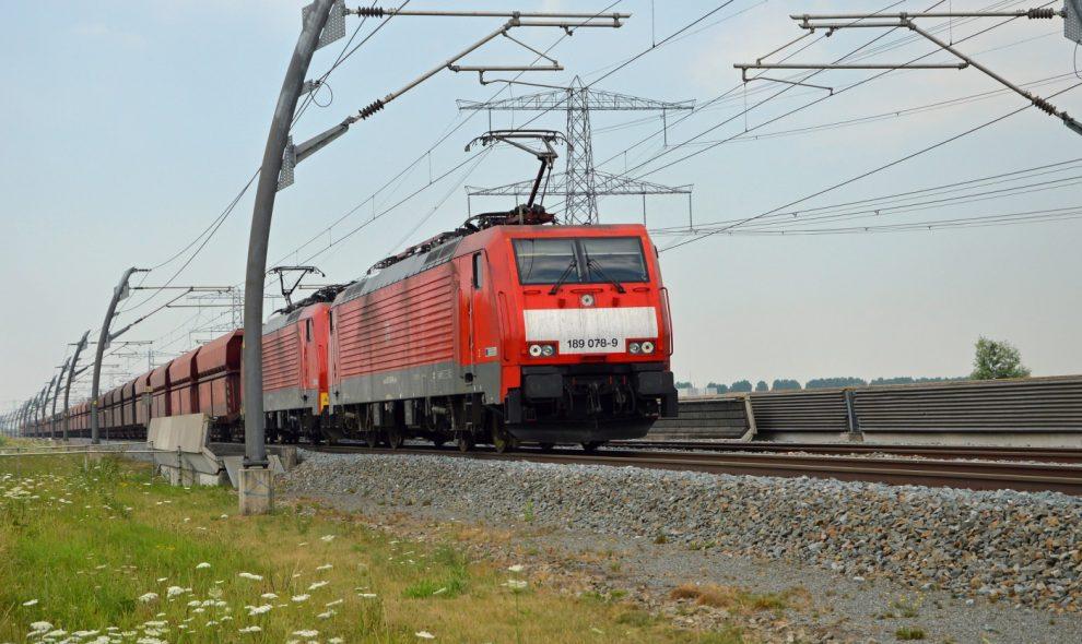 Lokomotive 189 078-9 Betuweroute Niederlande DB Cargo Railion