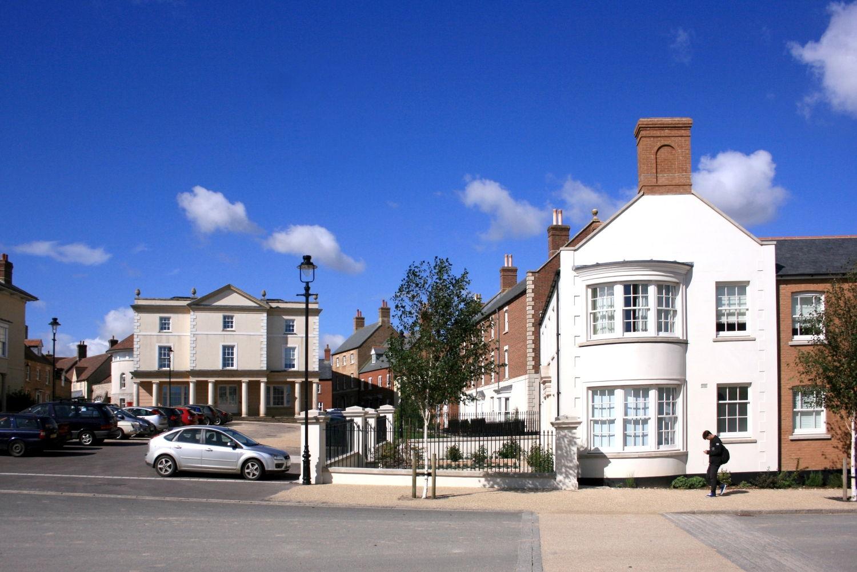 Pundbury England Prince Charles Dorf
