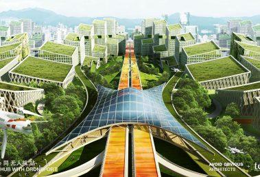 Shenzhen g107 baoan smart city Planung Architektur Stadtentwicklung