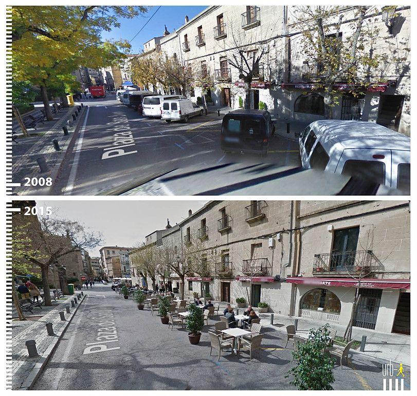 Caceres Plaza de San Juan Transformation Umbau
