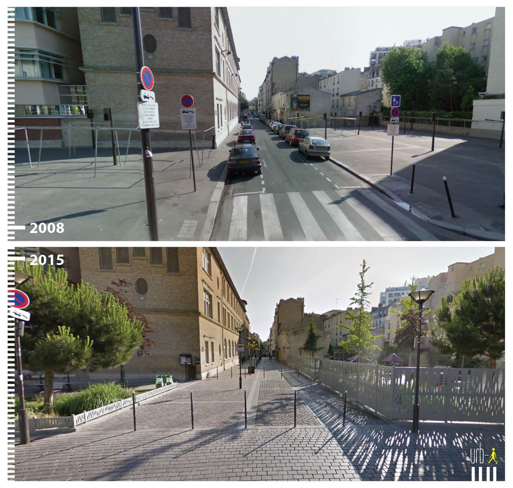 Rue Vitruve Paris Umbau