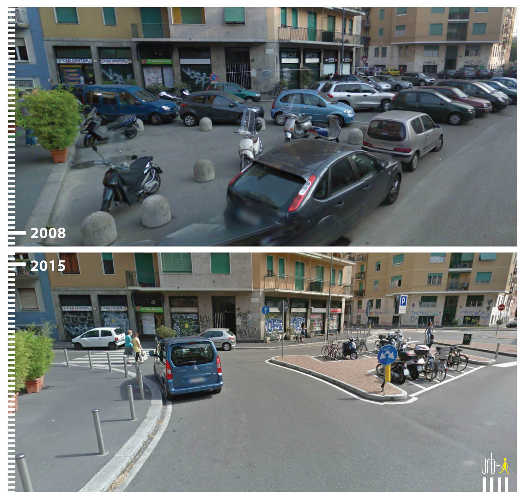 Radabstellanlagen Parkplatz Wegfall Italien Mailand
