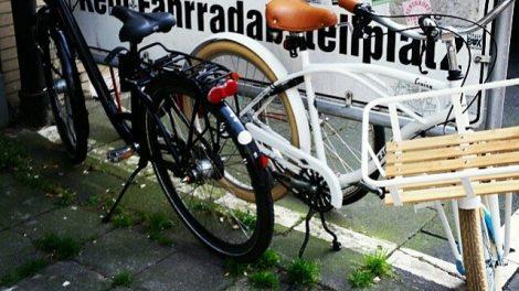 Verbot Fahrrad abzustellen Raumaneignung Radabstellmöglichkeit Köln