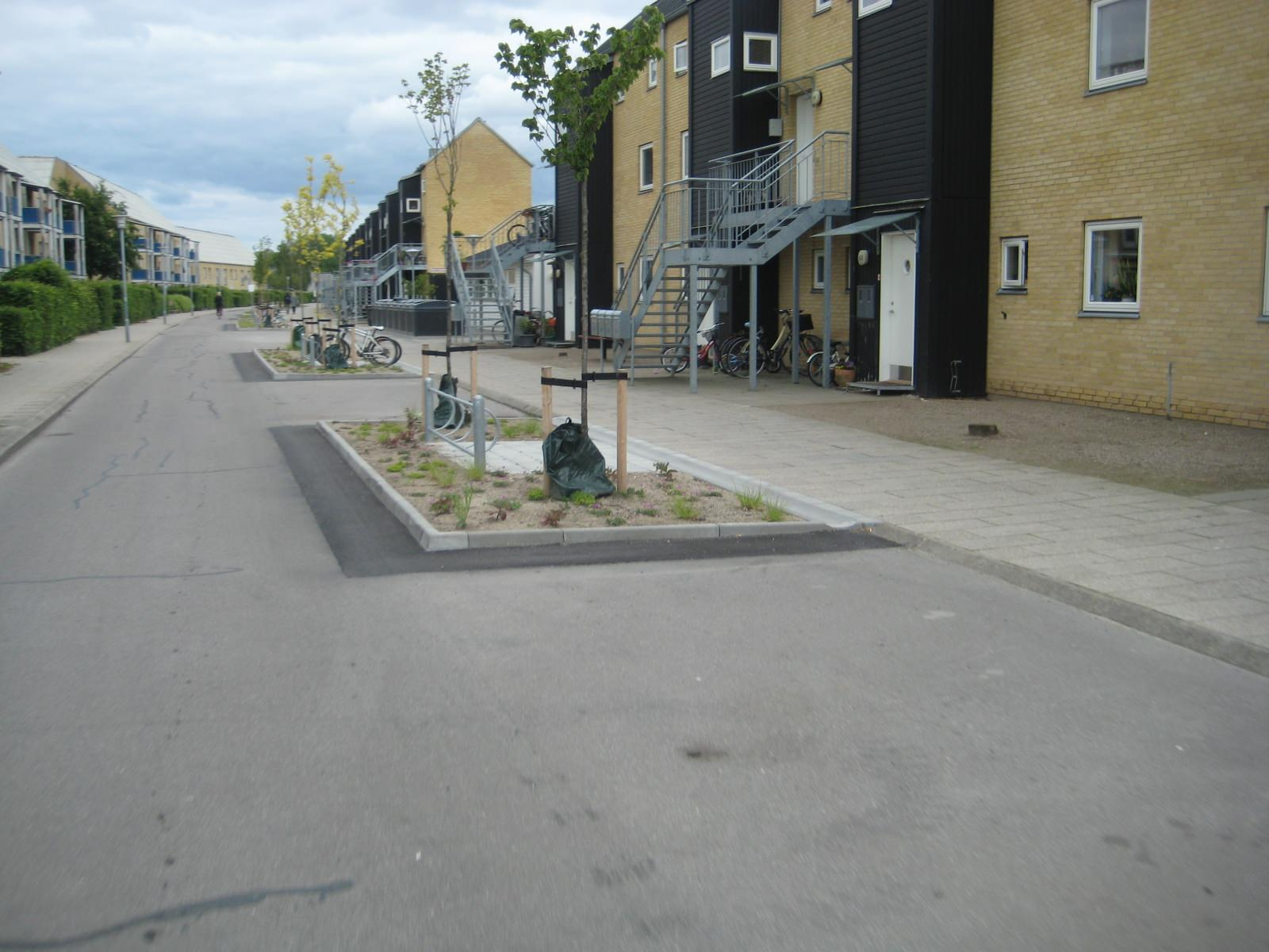 Fahrradparken Radabstellanlage Kopenhagen Fahrradstraße Radverkehr
