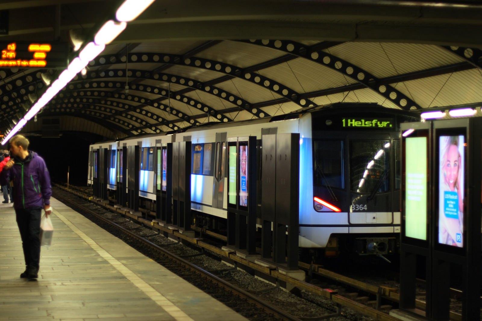 Metro Oslo U-Bahn MX3000 T-banen