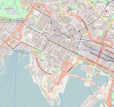Oslo Innenstadt autofrei Gebiet Zone geplant 2019