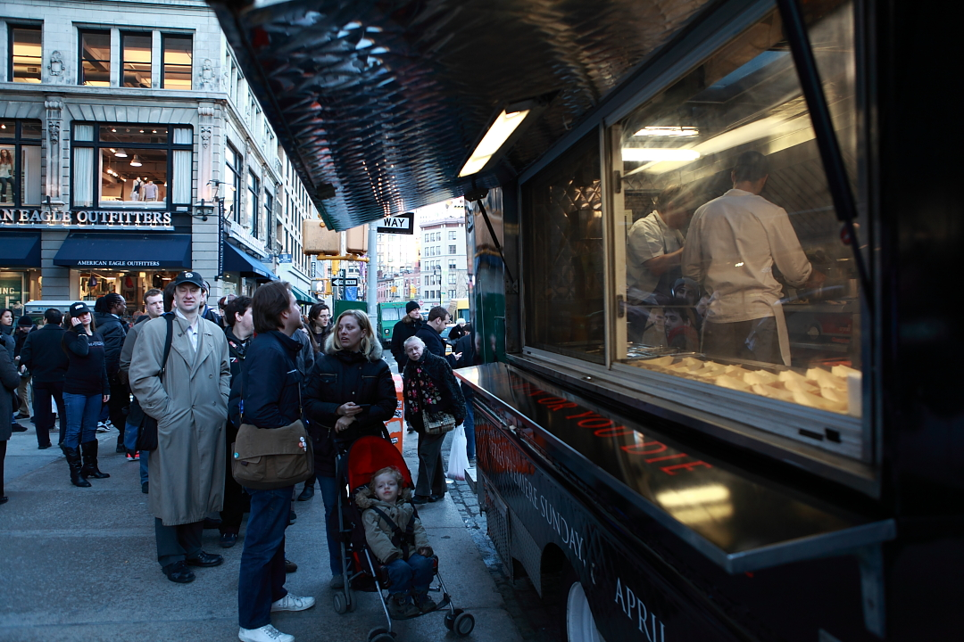 Game of Thrones Food truck New York City