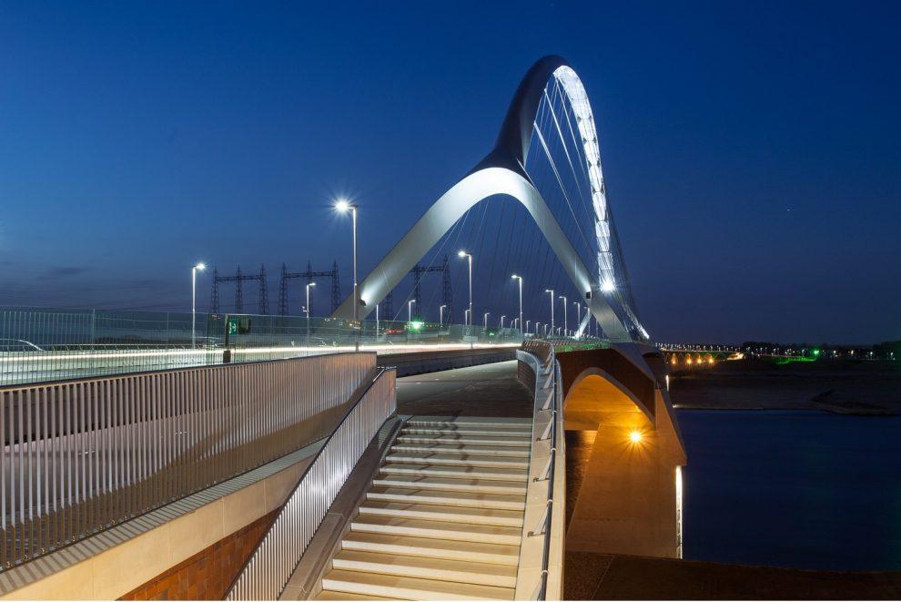 Nimwegen Brücke Radverkehr Nijmegen Niederlande