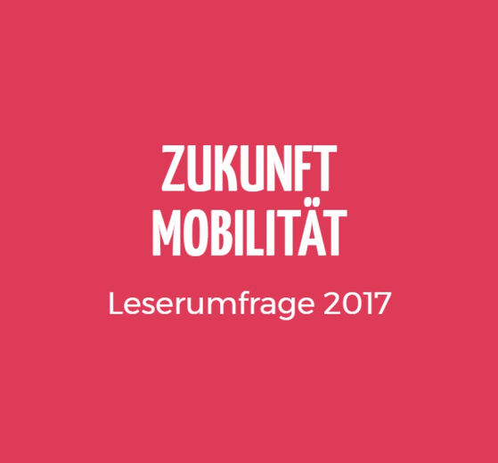 Banner Leserumfrage 2017 Zukunft Mobilität ZM