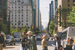 Vancouver Stadtstraße Foto