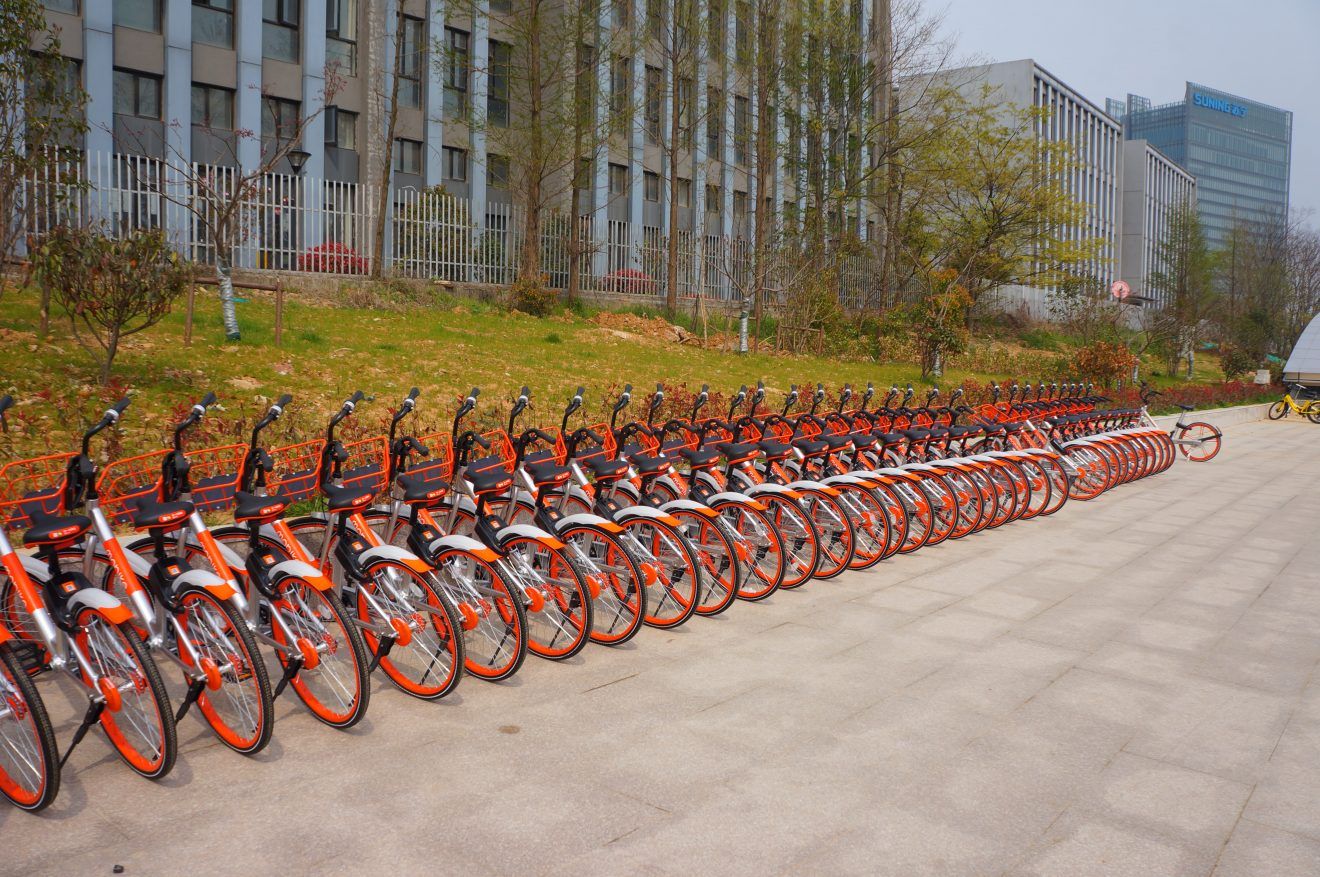 Bikesharing-Räder China CC