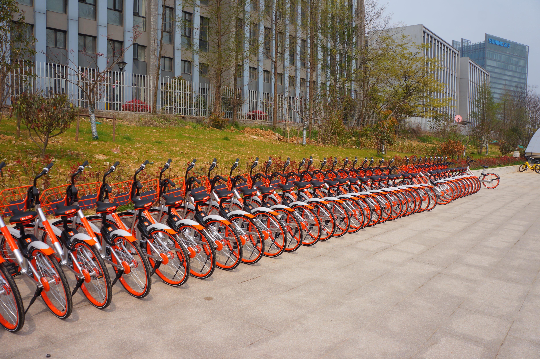 Bikesharing-Räder China CC