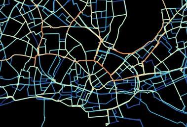 Hamburg Bikesharing Visualisierung Fahrradverleihsystem