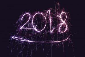 Neues Jahr 2018 Silvester