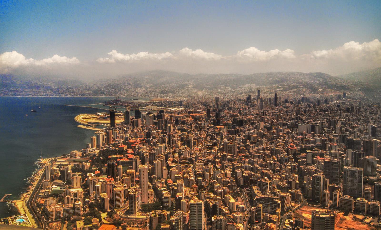 Libanon Beirut Skyline