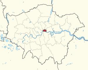 Fläche City of London Stadtgebiet