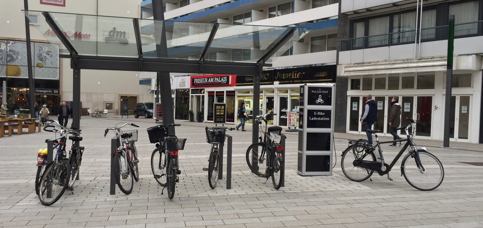 Radabstellanlage Ladeschrank Pedelec E-Bike E-Rad Recklinghausen Palais Vest