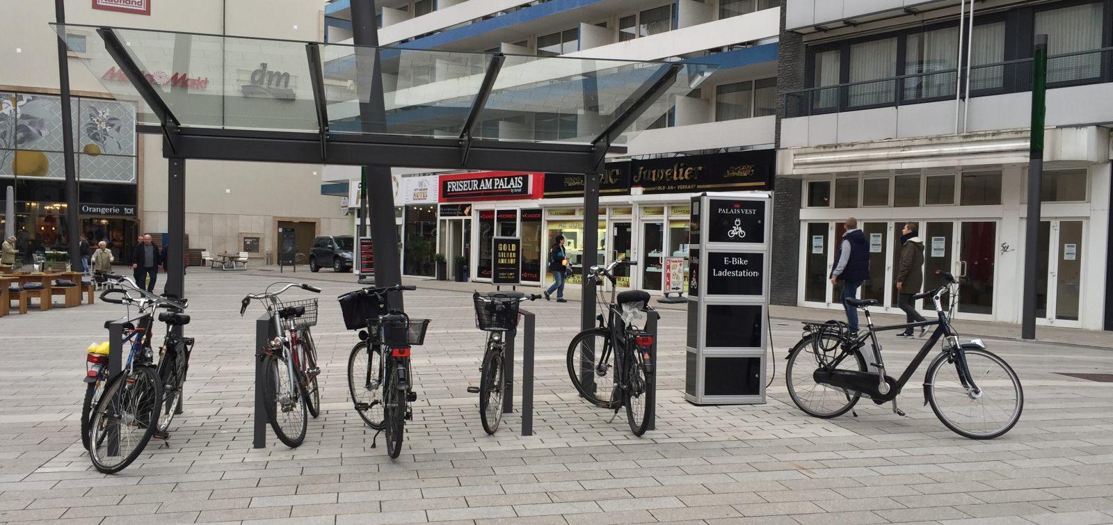 Radabstellanlage Ladeschrank Pedelec E-Bike E-Rad Recklinghausen Palais Vest