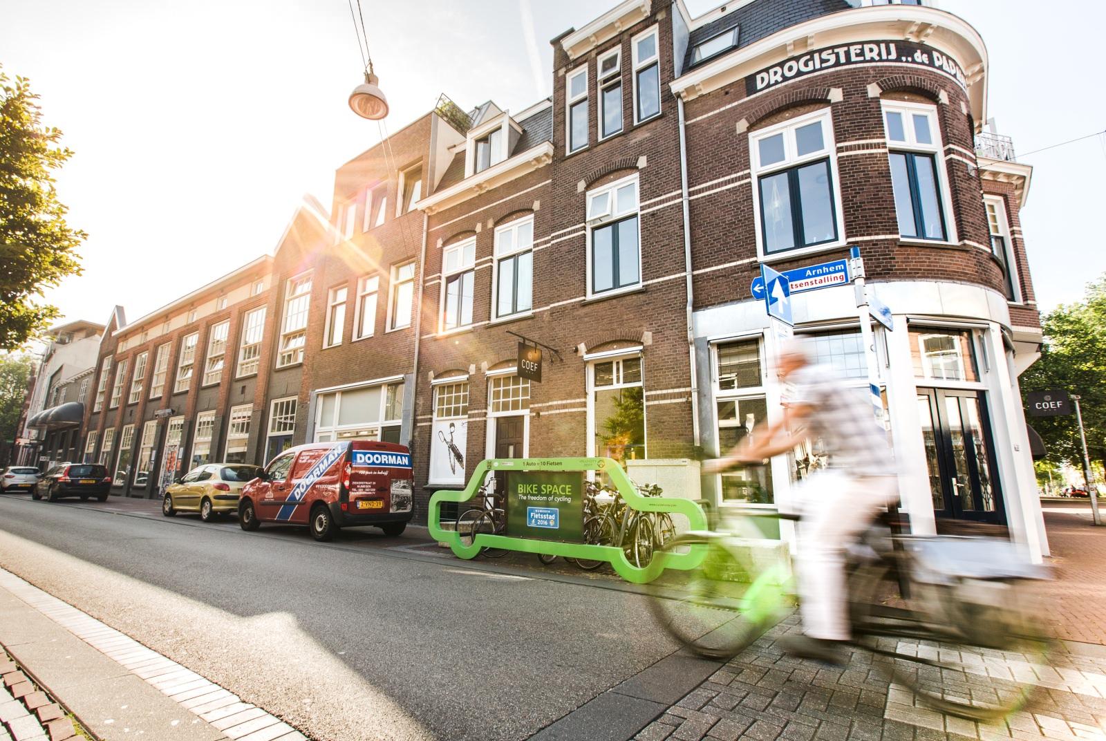 Radabstellanlage Nimwegen Niederlande Parkplatz Design Nijmegen Radverkehr