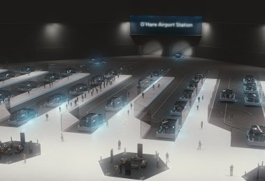 Chicago Express Loop The Boring Company O'Hare Airport