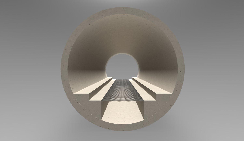 Tunnelquerschnitt Chicago Boring Company