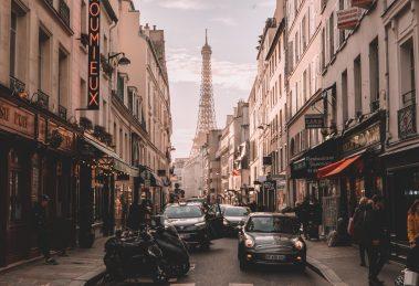 Paris Eiffelturm Parken Parkraum