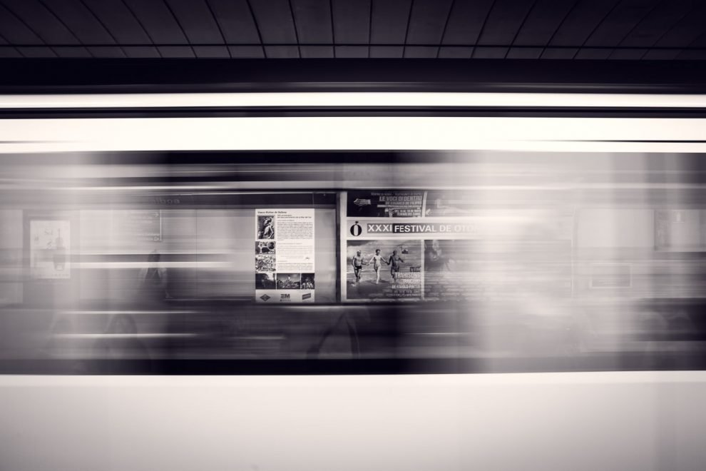Newsletter Symbolbild Dynamik Metro