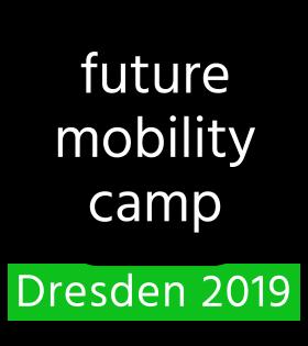 Logo Future Mobility Camp Dresden 2019