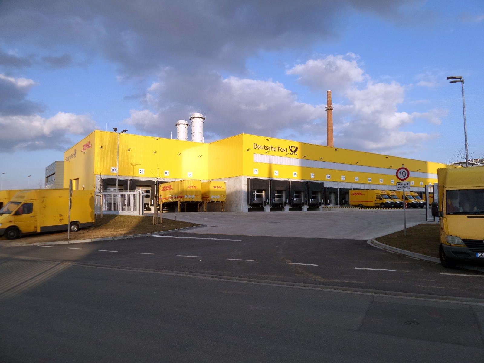 MechZB von DHL in Darmstadt