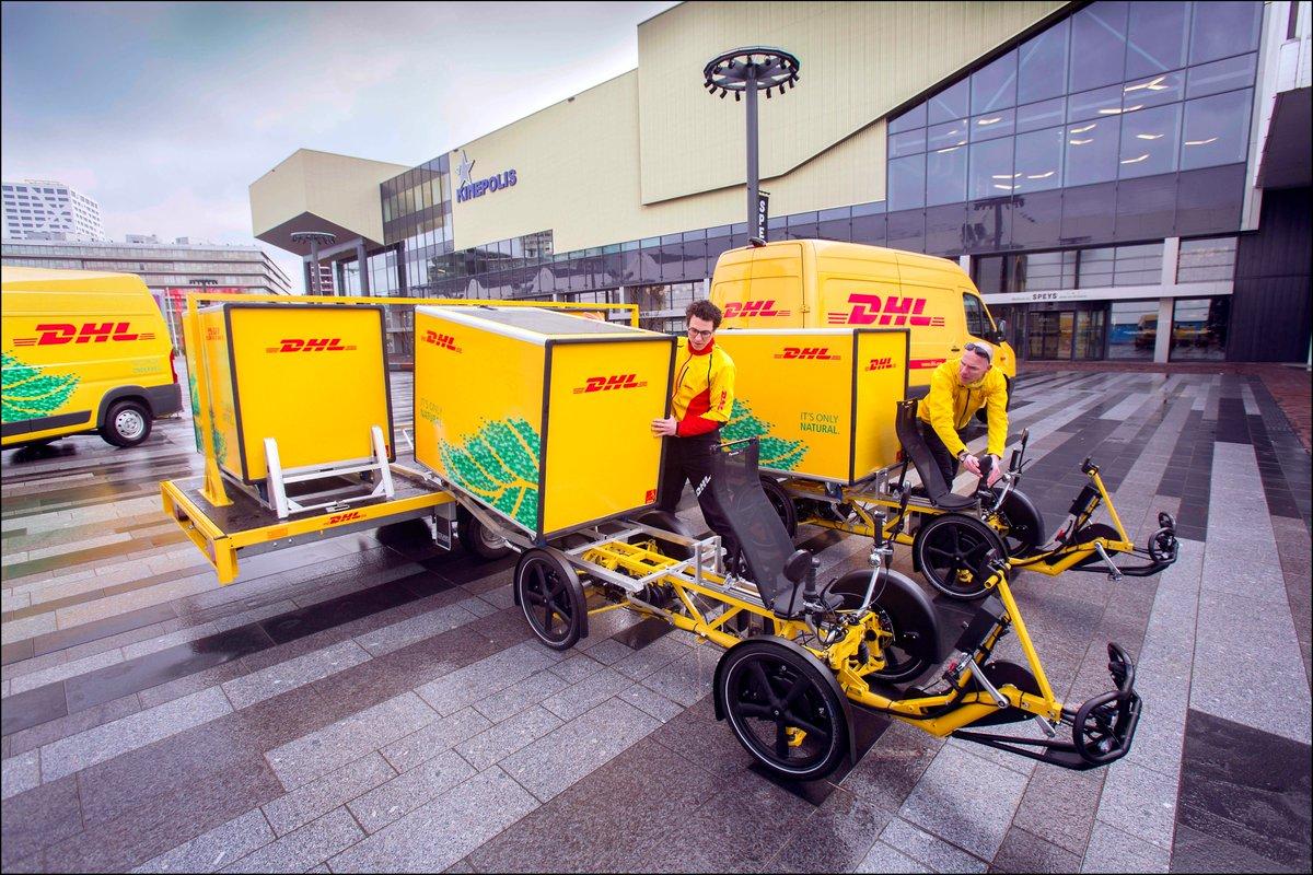 Armadillo velove DHL Lastenrad Container